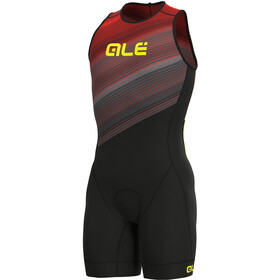 Alé Cycling Kaula Lympc Ärmelloser Triathlon Skinsuit Herren red